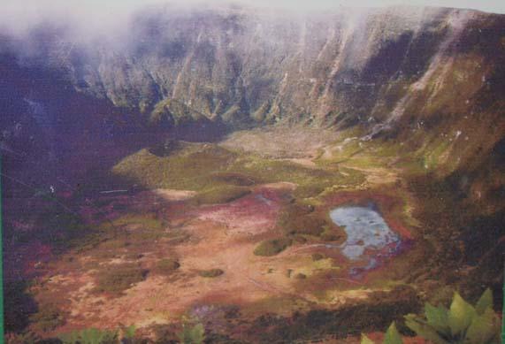 Caldeira Volcano Crater