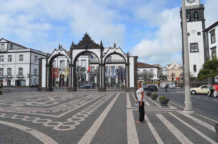 City Gates in Ponta Delgarda