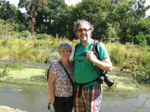 Shawn and Sheenagh at the Botanical Gardens
