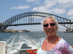 Sydney harbour bridge - what else! Linda - who else!