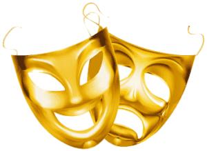 Comedy-Tradjedy Masks